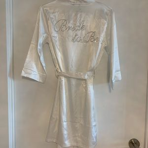 Other - Bride to be robe